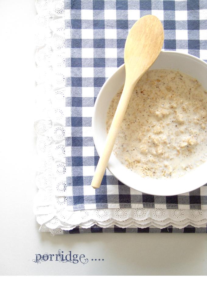 Porridge vaniglia storie di cucina - Racconti di cucina ...