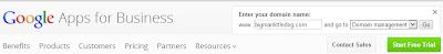 Google Apps Domain Registration - Apps Login