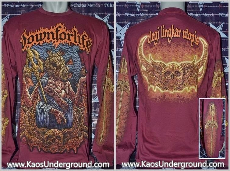 kaos band down for life underground solo buper