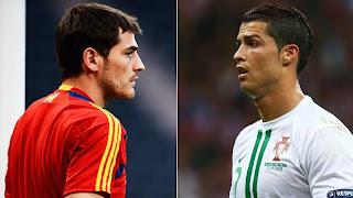 """Casillas: """"Cristiano no está en su mejor nivel"""""""
