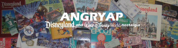 Angry AP - Disneyland and Walt Disney World nostalgia