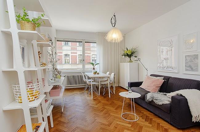 si os han dado el piso totalmente blanco ya tenis parte del trabajo hecho al ser pequeo lo mejor es inclinarnos por mobiliario blanco fcil de integrar y
