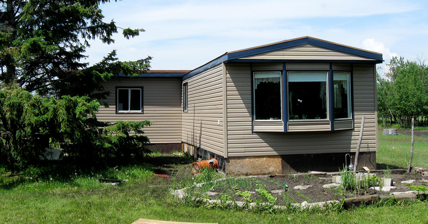 Skyline exteriors before and after of mobile home - Home exteriors before and after ...