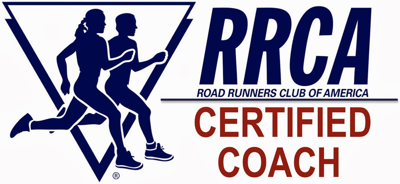 I am an RRCA certified running coach!