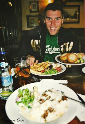 Cucina british e facce felici!