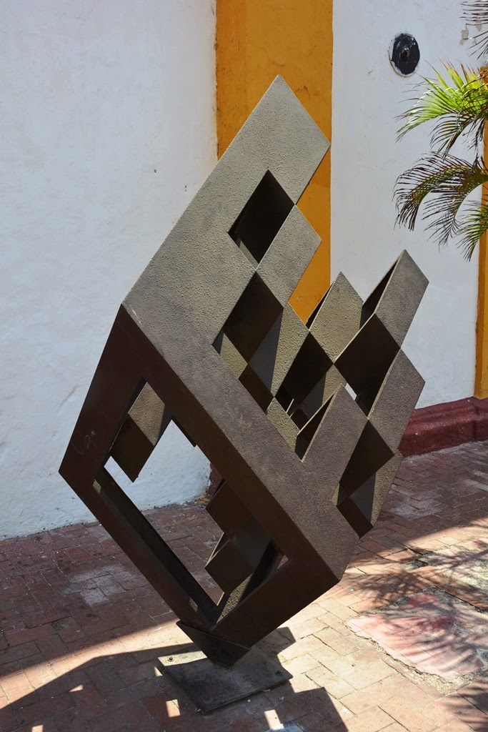 Museum of Modern Art Cartagena cube