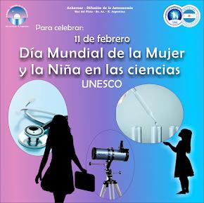 11 de febrero: Día de la Mujer y la Niña en las Ciencias