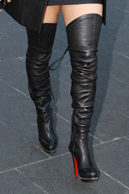 Kat Deluna In Thigh Boots