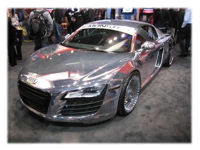 CES 2012 Monster Audi R8 Chrome