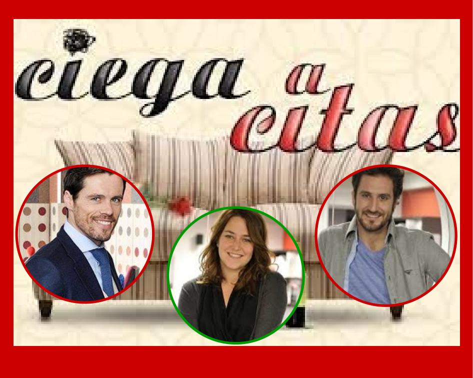 Ciega a citas protagonistas Octavi Pujades, Teresa Hurtado de Ory y Alex Gadea