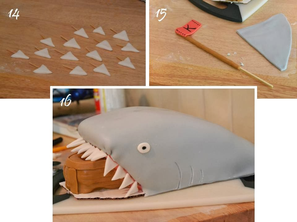 Much Ado About Somethin: Shark Cake