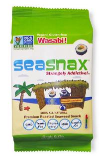 Wasabi SeaSnax Seaweed