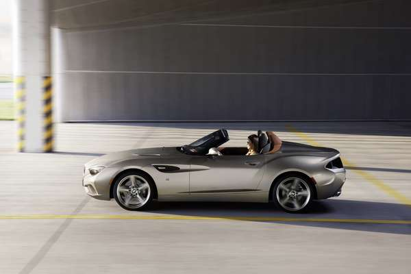 2012 Bmw Zagato Roadster Review Price Interior Exterior Engine Car Release Date