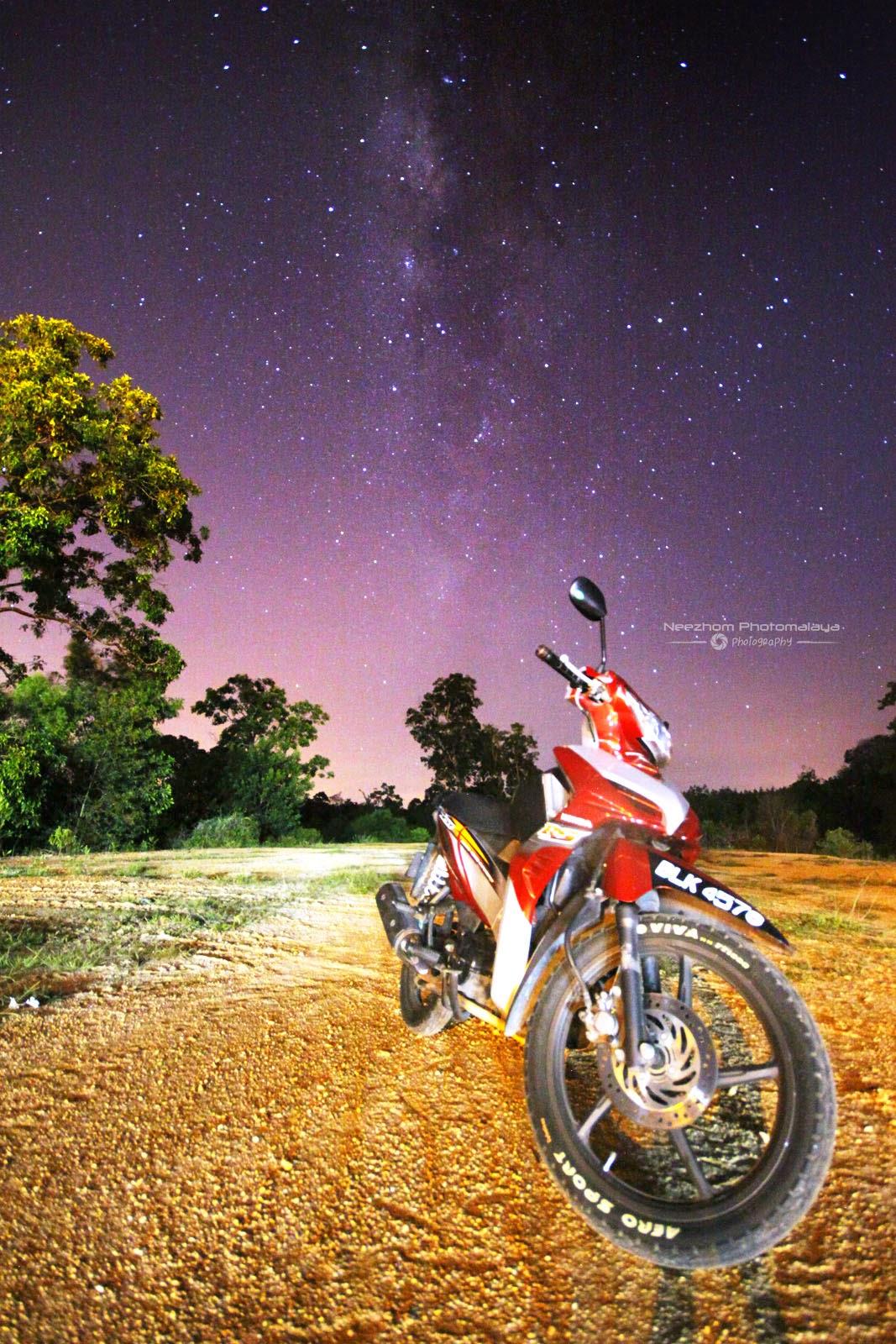 Galaksi Bima Sakti di kampung Tepoh, Kuala Terengganu