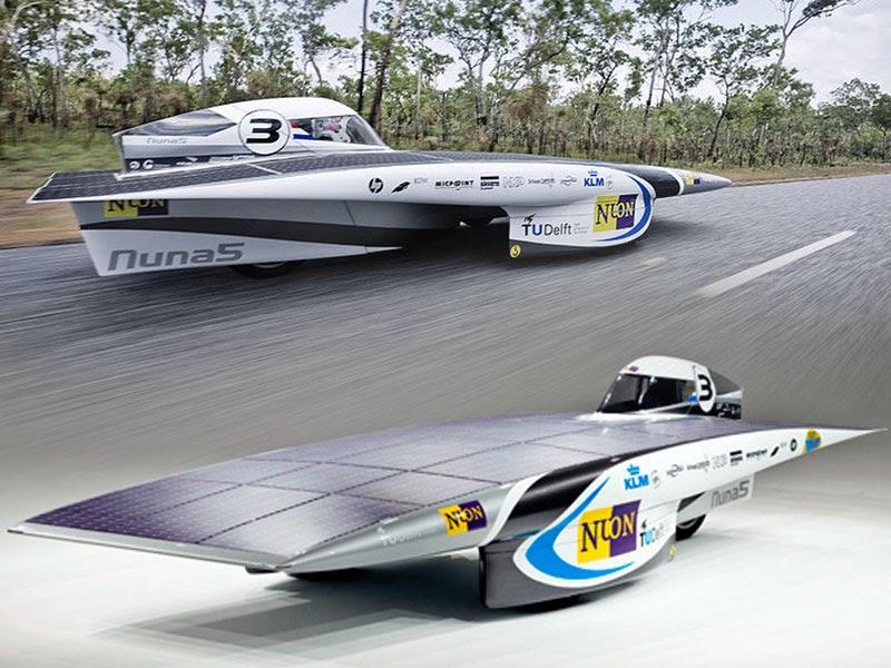 nuna5 race car solar powered vehicle sport cars. Black Bedroom Furniture Sets. Home Design Ideas