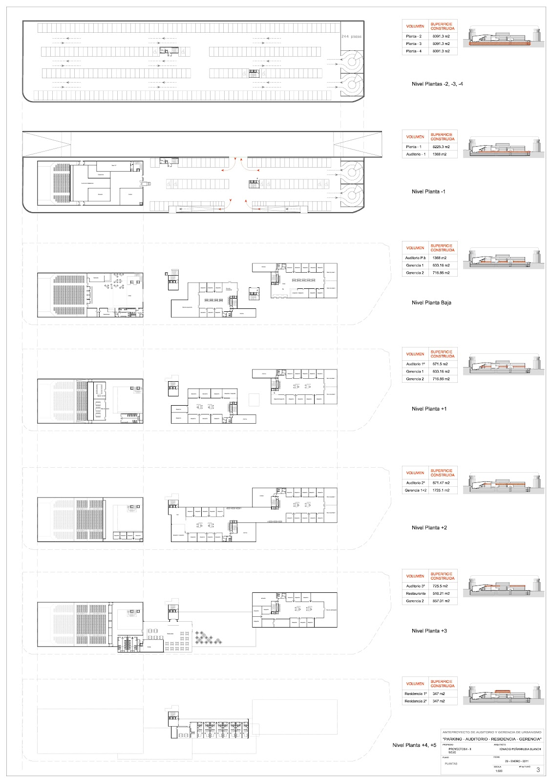 Ignacio pe arrubia blanch auditorio santiago bernabeu for Simbologia de planos arquitectonicos