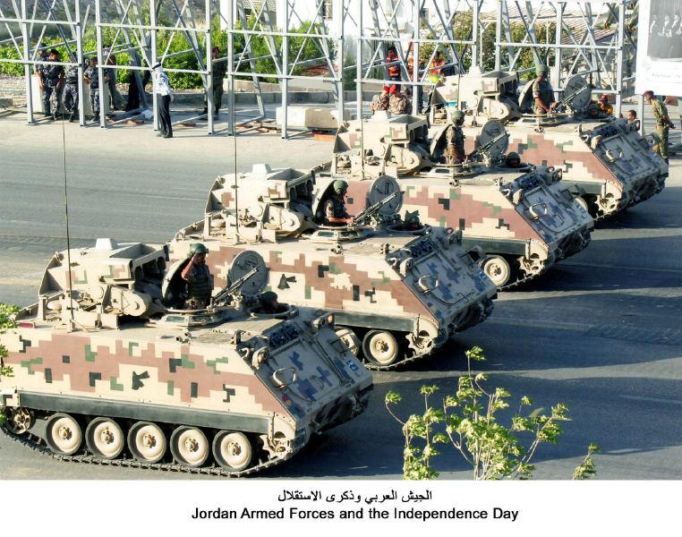 Fuerzas Armadas de Jordania Jordan+M113