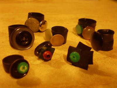 gyűrű kollekció bicikli gumibelsőből