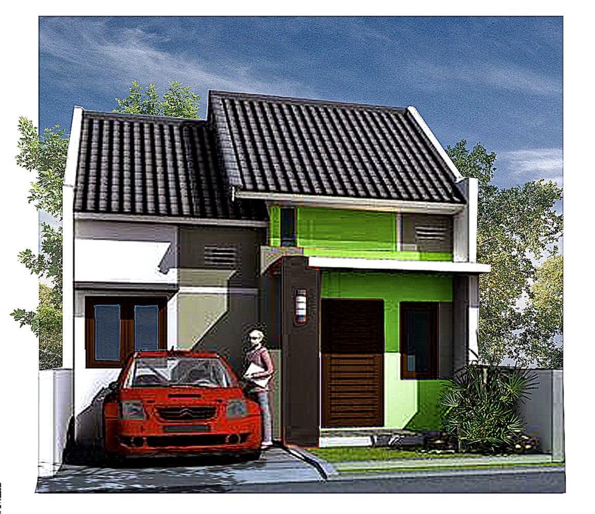 Contoh Desain Gambar Rumah Minimalis Type 36  Desain Rumah