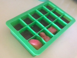 watermelon mint ice cube tray -  creative and crafty events