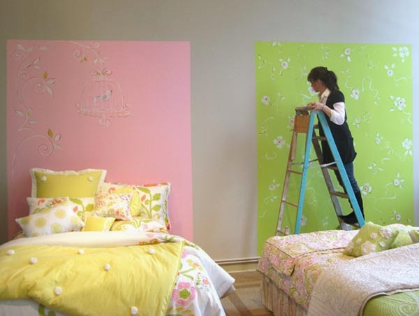 Nataly barbara cabecera de cama pintadas - Cabeceros de cama originales pintados ...