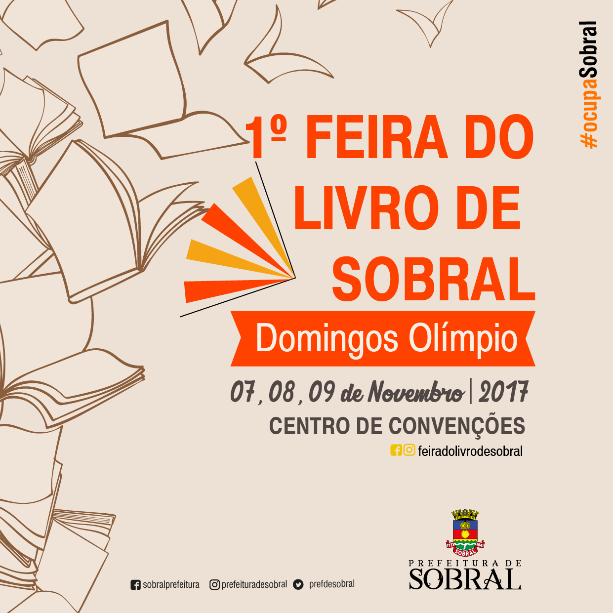 1º FEIRA DO LIVRO DE SOBRAL
