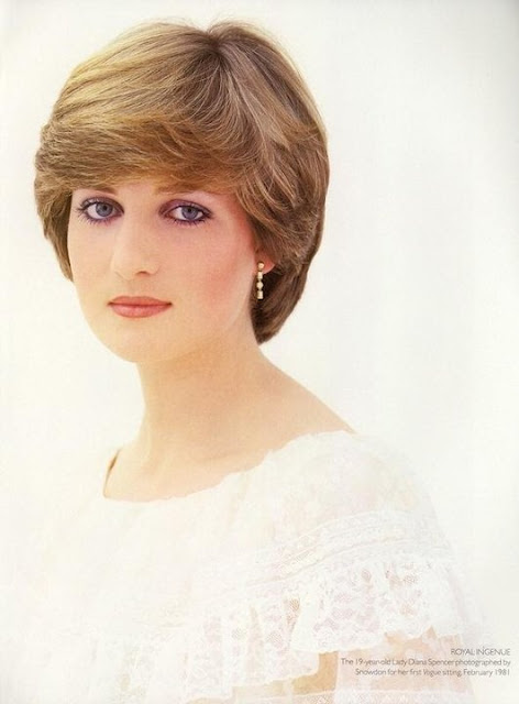 Princess Diana Hairstyles☀Short Hair