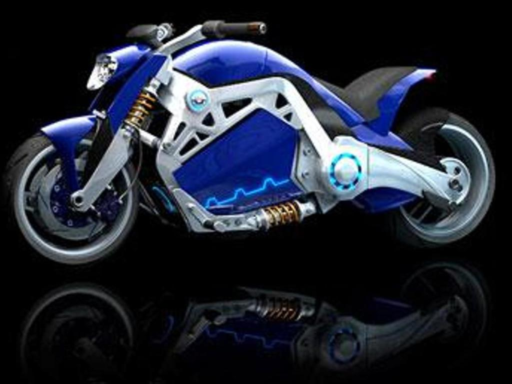 Honda V4 Concept Widescreen Bike HD Wallpapers