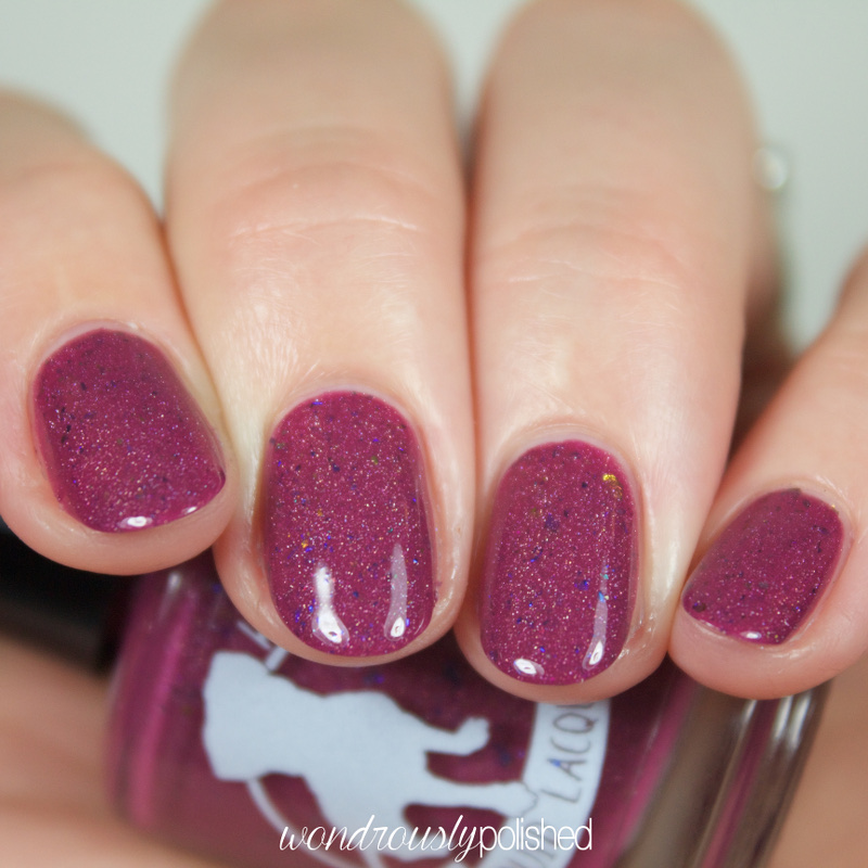 aliquid lacquer austentatious review swatches
