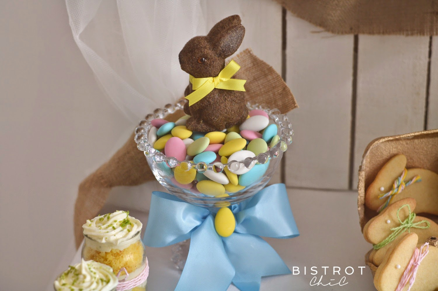 Easter Party Bunny by BistrotChic