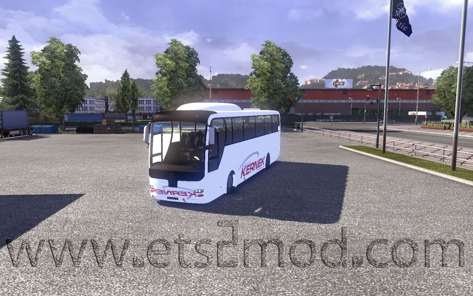 Mod bus mercedes kernek