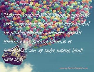 Sad Quotes Tagalog