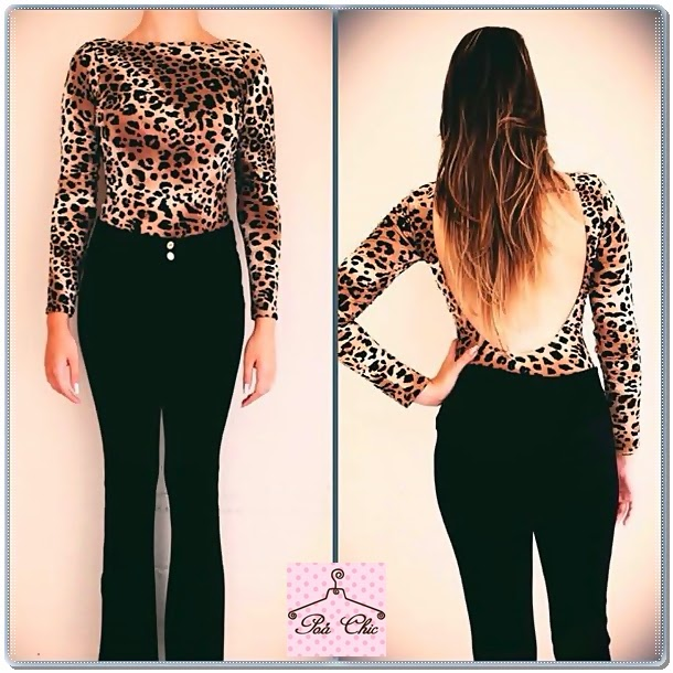 Body Animal Print (Oncinha)