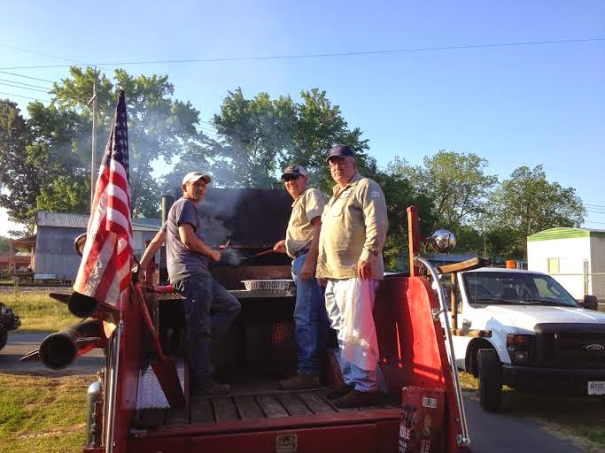 Saline River Chronicle News: Warren Fire Department Conducts Training
