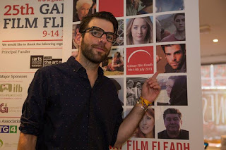Zachary Quinto at the Galway Film Fleadh