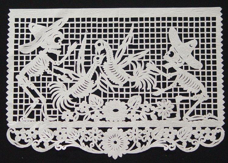 Papel Picado Papercraft A La Mexicana