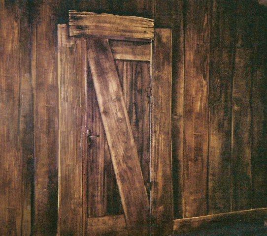 P e i n t r e en d e c o r s magali manotte theatre la lucarne bordeaux - Vieilles planches de bois ...