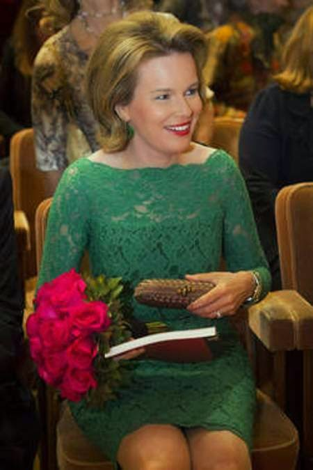 Queen Mathilde At The semi-finals Of The Queen Elisabeth Violin Competition 2015