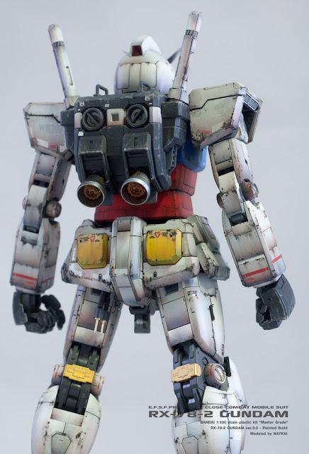 MG RX-78-2 Gundam ver.3.0 work modeler