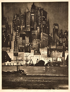 Earl Horter, Manhattan Night