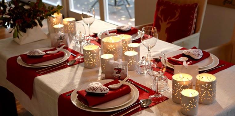 Consejos decorativos para la mesa de navidad revista - Decoracion mesa fin de ano ...