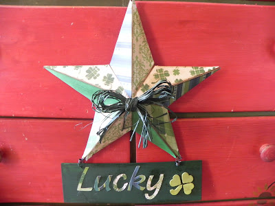 lucky barn sign diy