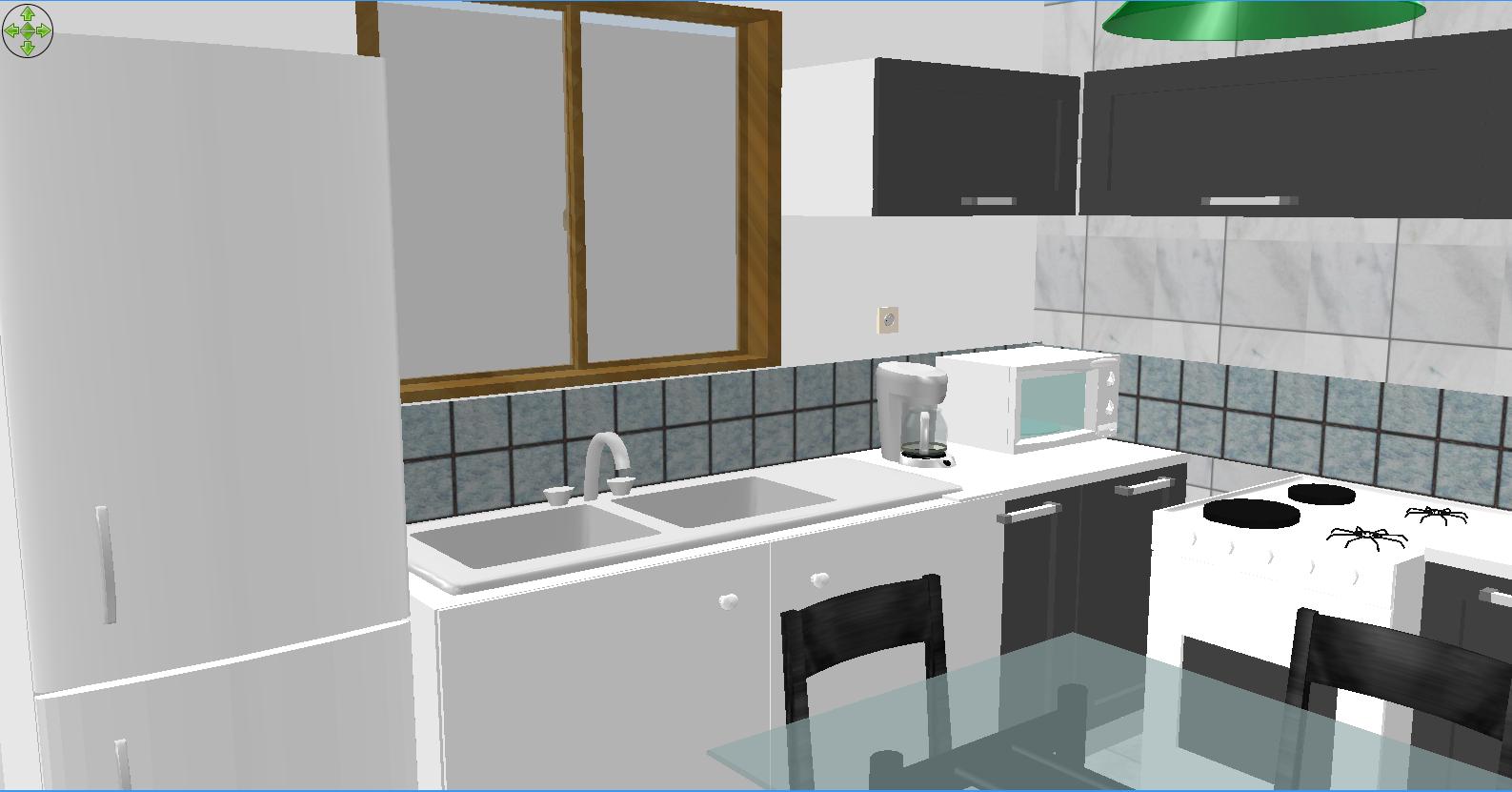 #634920 Macoi Projetos de Casas: Projeto de casa com 2 dormitórios sala  1587x831 px Projetos Cozinha Com Area De Serviço_5063 Imagens