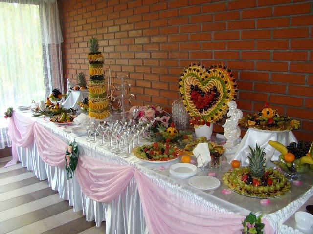 Кейтерінг на весіллі в Тернополі, Україна