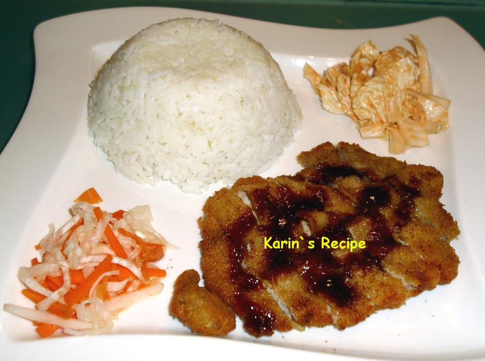 Karin's Recipe: Chicken Katsu