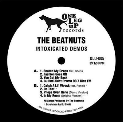 The Beatnuts – Intoxicated Demos (2009, VBR) (Vinyl)