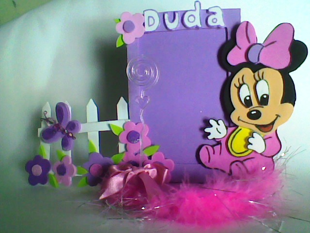 Porta Retrato Minnie   Cerquinha