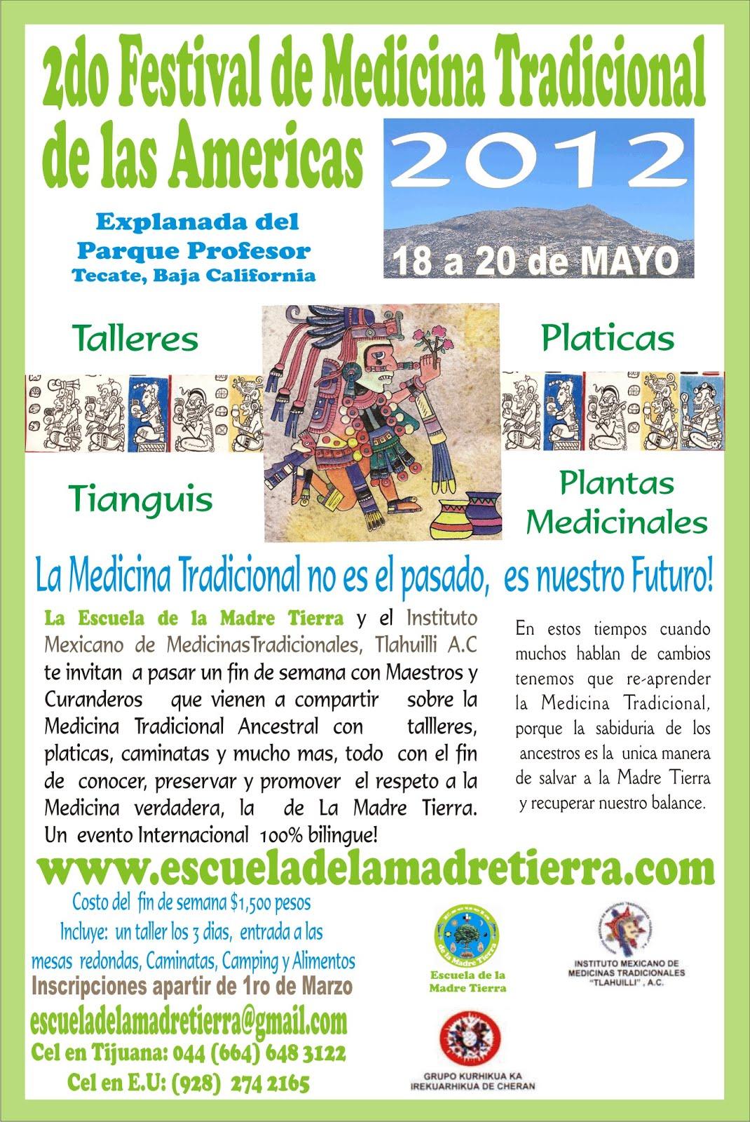 FESTIVAL MEDICINA TRADICIONAL 2012