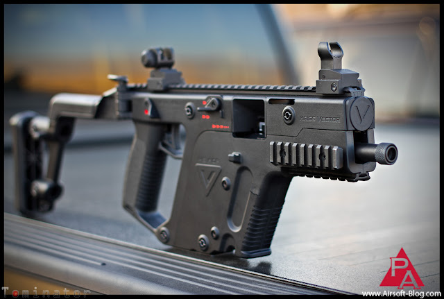 KWA KRISS Vector, TDI Vector, TDI KRISS Vector, COD Vector, COD Super V, Airsoft GBB, Gas blowback guns, airsoft smg, airsoft submachine gun, Airsoft GBB Submachinegun, Airsoft GBB SMG, Pyramyd Airsoft Blog, Pyramyd Air, Tom Harris, Tominator,