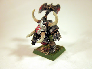 Warhammer Fantasy Orc Warlord on foot